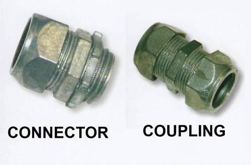 "EMT OUTDOOR COMPRESSION CONNECTOR COUPLING 1//2 1 2 3 4/"""