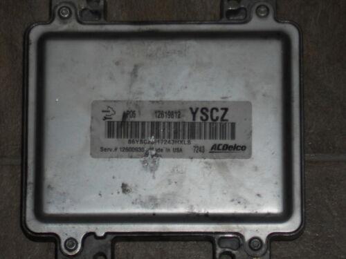 2006-2008 Grand Prix Lucerne ecm ecu computer 12619812