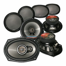 "Earthquake Sound T65 + T693X 2 & 3 Way 6.5"" & 6x9 Car Speaker (2 Pairs)"