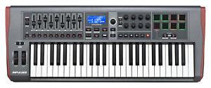 NOVATION-IMPULSE-49-49-KEY-MIDI-KEYBOARD-CONTROLLER-ABLETON-Authorized-DLR