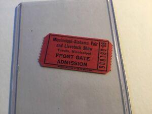 Mississippi-Alabama-Fair-Concert-Ticket-Tupelo-Elvis-Related