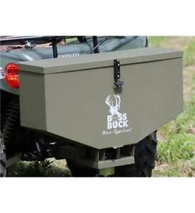 Boss-Buck-ATV-80-TAILGATE-FEEDER-Spread-Feed-Seed-Salt-amp-Fertilizer-BB-180