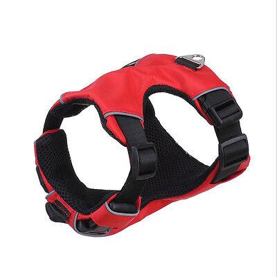 Dog Reflective Front Range No Pull Mesh Padded Pet Vest Harness Adjustable S M L