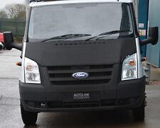 NERO Anteriore Cofano reggiseno / Protezione per Ford Transit MK7 06-14