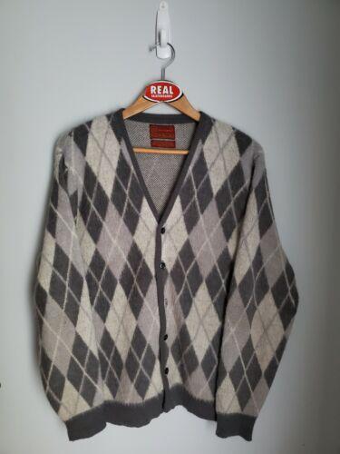 Vintage Sears Mohair Cardigan Cobain Sweater Grung