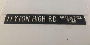 London-Linen-Bus-Blind-19-6-1984-2-42-034-Leyton-High-Road-Grange-Park-Road