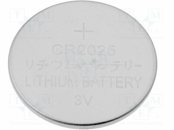 100% Waar Battery: Lithium; 3v; Cr2025; ¨20x2.5mm [20 Pcs] Koel In De Zomer En Warm In De Winter