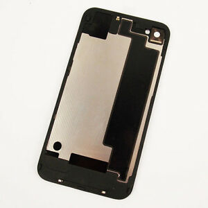 New-Battery-Cover-Back-Door-Rear-Glass-OEM-Replace-For-iPhone-4S-A1387-Black