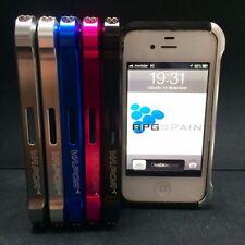 Bumper aluminio VAPOR 4 + Protector pantalla iPhone 4 / 4S carcasa  ENVIO GRATIS