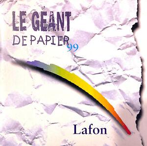 Lafon-CD-Single-Le-Geant-De-Papier-99-France-VG-EX
