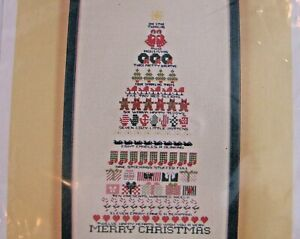 ASTOR-PLACE-12-Days-of-Christmas-Tree-Counted-Thread-Cross-Stitch-Pattern-9-x-17