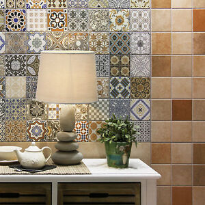 Ol Maalem Decor Matt Patchwork Moroccan Pattern Porcelain
