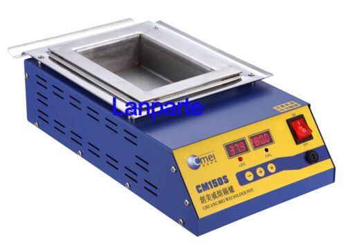 Preheat Station Square Tin Pot 15*10cm 220V 900W Digital Preheat Soldering Pot