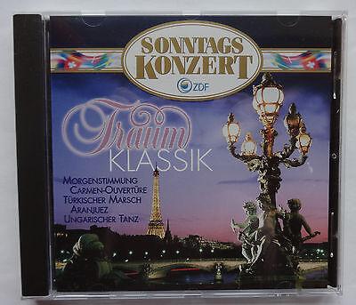 CD Sonntagskonzert ZDF Traum Klassik Bizet Mozart Chopin Vivaldi Elgar Brahms