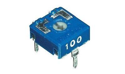 4pz trimmer 10x10 22 KOhm orizzontale regolazione con cacciavite cod AB//062220