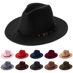 Wide-Brim-Autumn-Winter-Cowboy-Hat-Felt-Fedora-Hats-Outback-Hat-Panama-Jazz-Hat