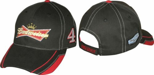 Kevin Harvick 2015 Checkered Flag Sports #4 Budweiser Hat FREE SHIP