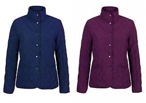 Jack Murphy Ladies Reece Quilted Jacket in Blackberry or Navy | eBay : jack murphy quilted jacket - Adamdwight.com
