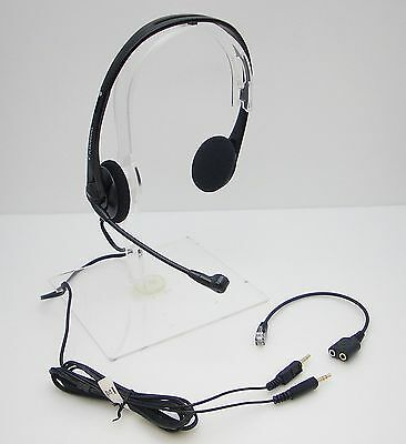 T100 Headset for Polycom 300 301 335 430 450 500 501 550 560 600 601 650 /& 670