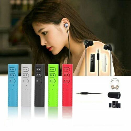 3.5mm Wireless Bluetooth Music Receiver Adapter For Car AUX//Speaker//Headphones