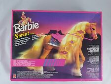 Vintage 1994 Mattel 11550 Barbie Sprint Caballo Plus Extra's