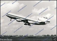 KLM DOUGLAS DC-10, ORIGINAL PERIOD PHOTO 18x24cm