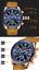 thumbnail 28 - Silicone Leather Chronograph Men's Watch Luxury Quartz Watches Relojes De Hombre