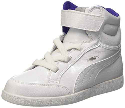 Scarpe Puma Ikaz Mid Serpent V PS 361563 04 Sneakers Bambina Leather White