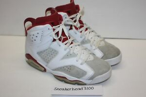 1b3eaacfea939f Nike Air Jordan 6 Retro Alternate White Gym Red Platinum 384664-113 ...