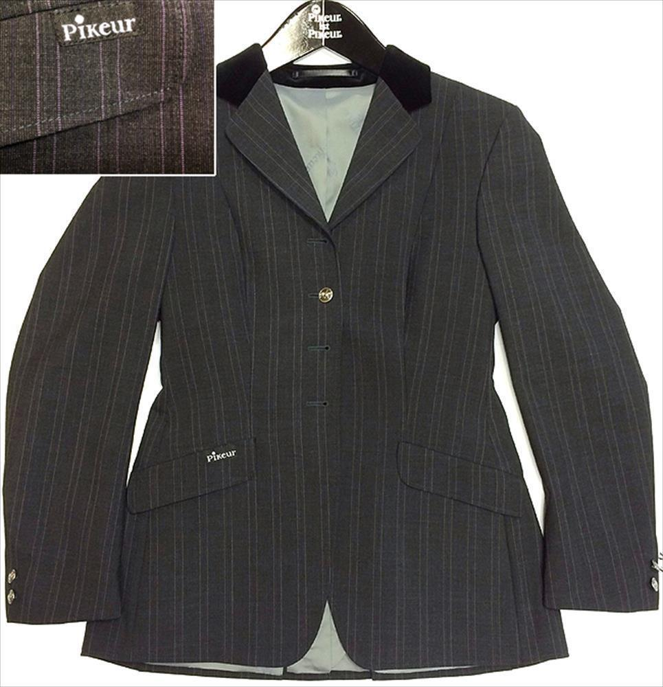 Pikeur reite costume epsom lacker-classic form, with pinstripe