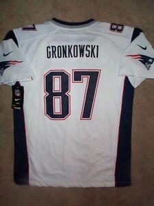 94d47dd52 IRREGULAR  New England Patriots ROB GRONKOWSKI nfl NIKE Jersey Youth ...