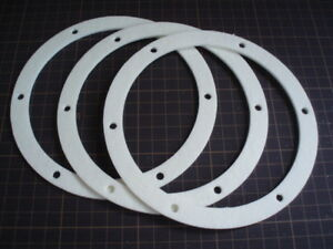 "Motor Mount to Housing Seal 3 PK! Pellet Stove 6/"" Fan Gasket Exhaust Combustion"