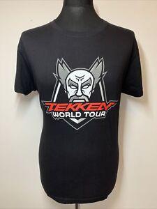 Official Bandai Namco Tekken World Tour Black Games Gaming T-Shirt Tee M NEW