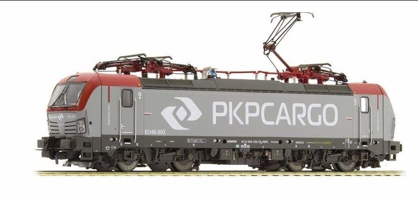 PIKO 59884 Elektrolok Vectron 193 PKP Cargo di corrente corrente corrente alternata versione AC Merce Nuova 26c12c