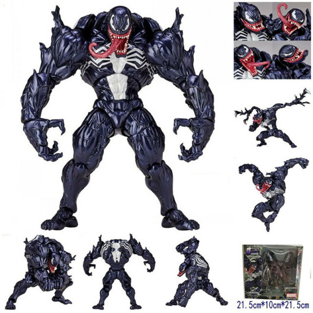 Marvel Spider-Man Venom No.003 Revoltech Series PVC Action Figure Model Toy Gift
