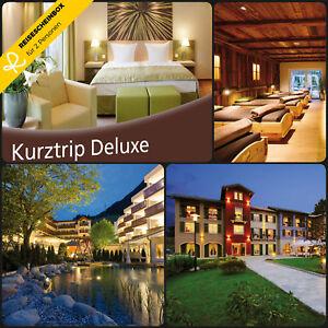 2 x 3 Tage über 150 Hotels Kurzurlaub Deutschland Wellness Gutschein Box Deluxe