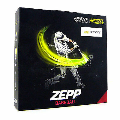 New Zepp Baseball 3D Motion Swing Analyzer Track Improve Virtual Coach Cricket