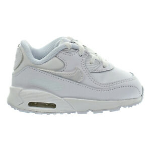 Details about Nike Air Max 90 LTR (TD) Toddler Shoes White White Cool Grey 724823 100