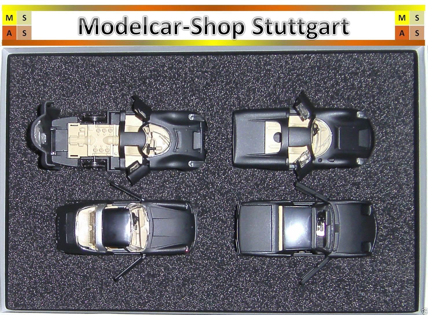 Rak Set Porsche 2011 con 911 Targa 914 907 910 - 1:43 - Nuovo di