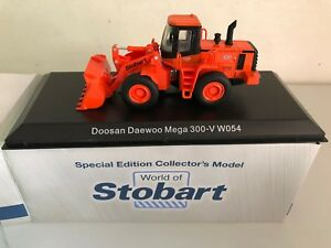 DIE-CAST-EDDIE-STOBART-034-DOOSAN-DAEWOO-MEGA-300-V-W054-034-SCALA-1-76