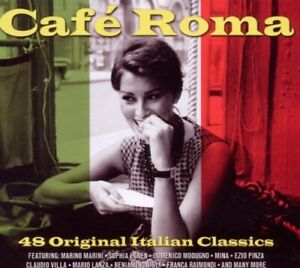 Various-Artists-Cafe-Roma-Various-New-CD-UK-Import