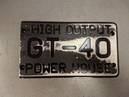 Pro 5.0 Custom /'86-/'93 Mustang GT-40 Intake Manifold Cover HO