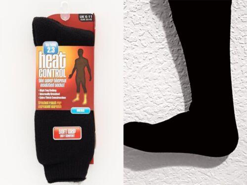 Men Ultimate Heat Control Thermal SOCKS 2.3 TOG  UK SIZE 6-11 Black Colour LOT