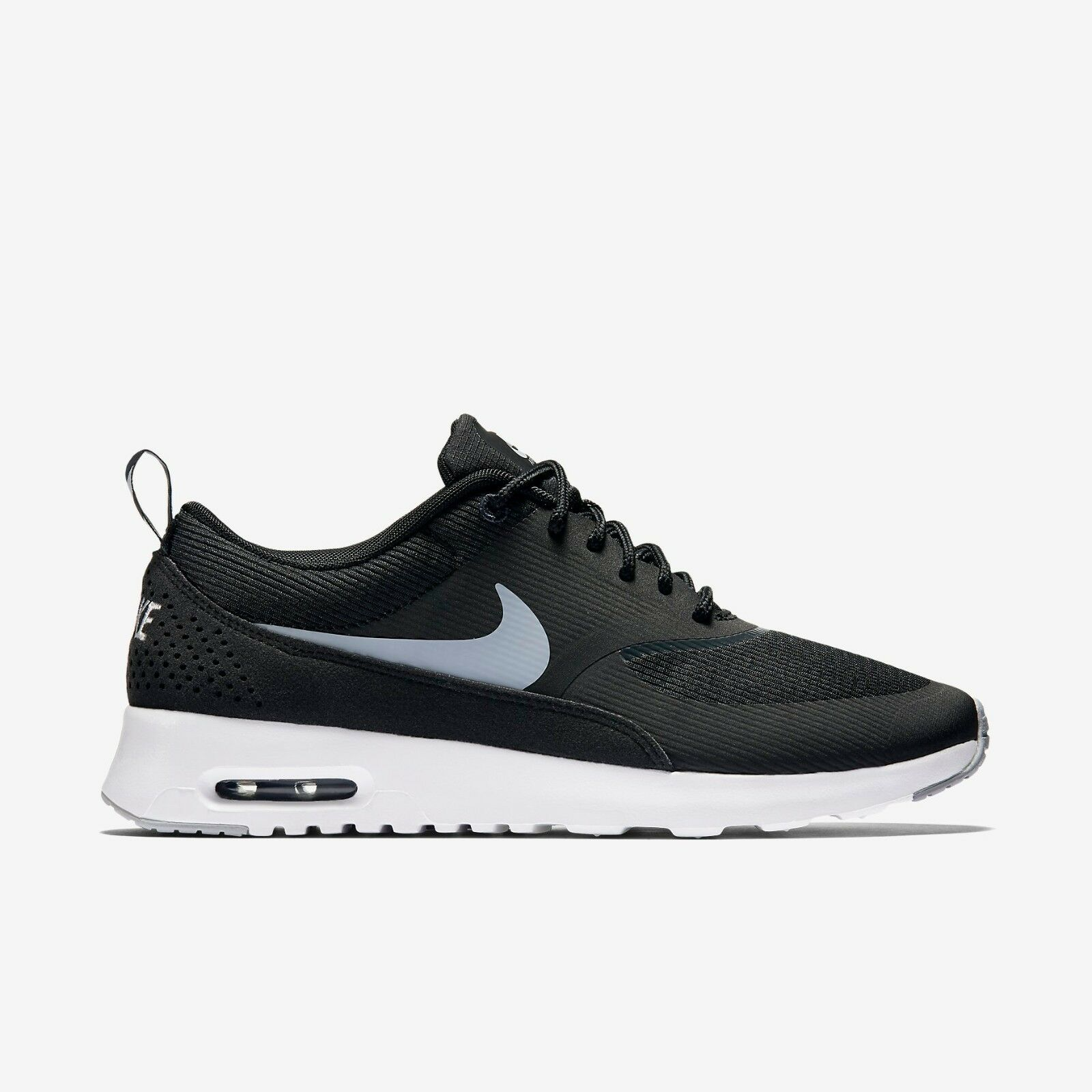 New Nike Women's Air Max Thea Shoes (599409-007)  Black/Anthracite/White/Wolf Gr