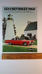 1968-CHEVROLET-All-Models-Original-Dealer-Sales-Brochure-Excellent-Condn-CDN