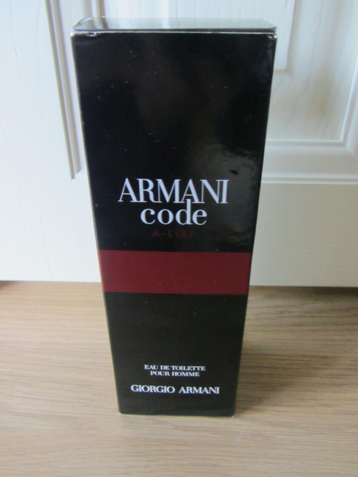 armani code a list 75ml