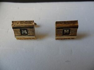 vintage-mens-gold-tone-cufflinks-with-m-or-w-intital
