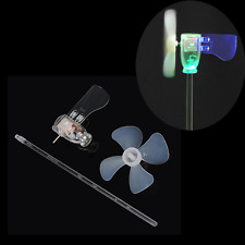 Mini 360 degrees Wind Generator Turbine LED Teaching Tools Sample Model Smallest