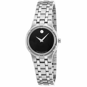 Movado 0606204 Women's Metio Black Quartz Watch