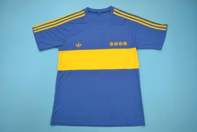 BOCA JUNIORS RETRO SHIRT 1981, DIEGO MARADONA, Size S M L ...